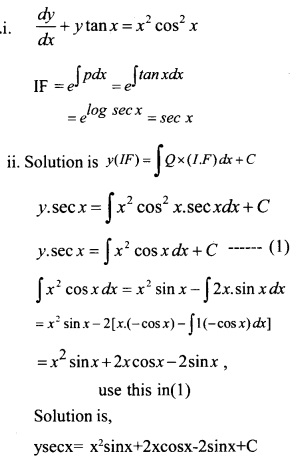 Plus Two Maths Chapter Wise Questions and Answers Chapter 9 Differential Equations 19