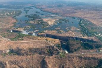 We komen waarschijnlijk nog een keer terug, maar dan vanaf deze (Zimbabwaanse) kant.......