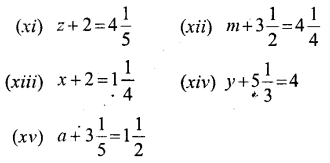 Middle School Mathematics Selina Publishers for Class 6 Solutions - Simple (Linear) Equations (Including Word Problems) - a1.