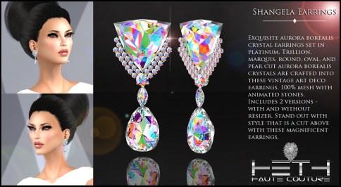 HHC - Shangela Earrings POSTER