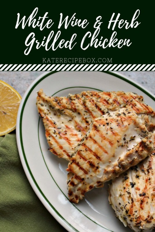 White Wine and Herb Grilled Chicken