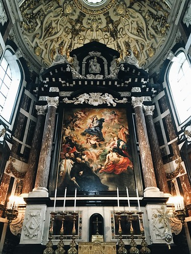 Retablo iglesia San Pablo