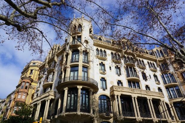 Casa Fuster on Passeig de Gràcia