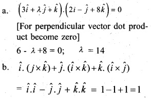Plus Two Maths Chapter Wise Questions and Answers Chapter 10 Vector Algebra 7