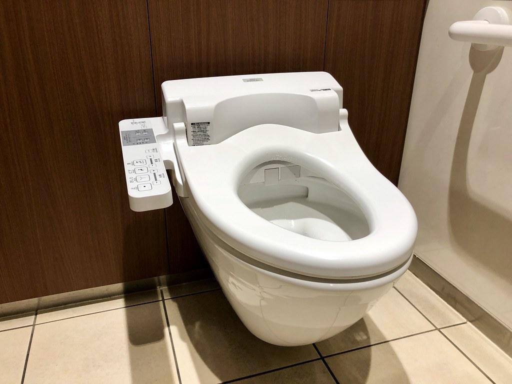 Westerse stijl wc