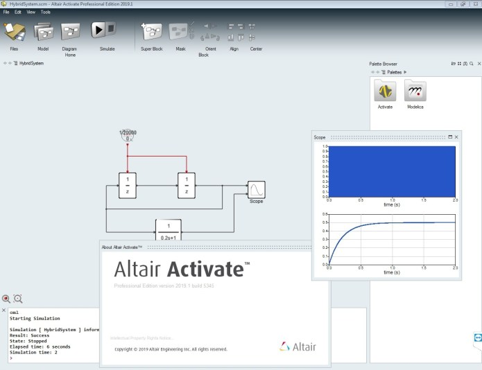 Working with Altair Activate 2019.1 Win64 full license