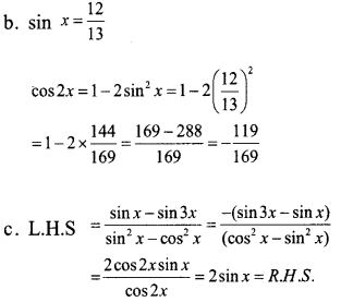 Plus One Maths Model Question Papers Paper 3A16.1
