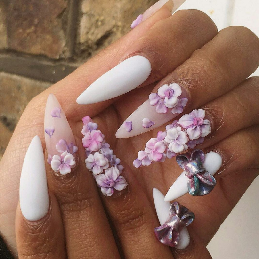 Best Nail Designs And Tutorials: Top 3D Nail Designs With Best Tutorial