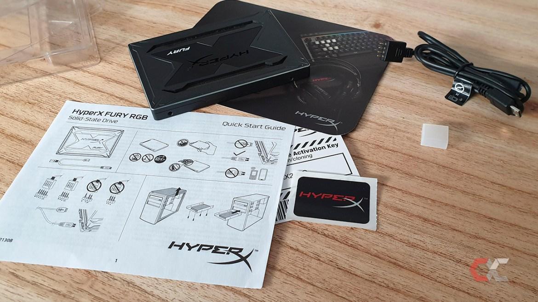 HyperX Fury RGB 240 GB Overcluster Foto 8