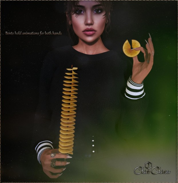 Spiral potato chips by ChicChica @ Soiree