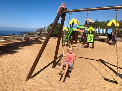 Playground at the beach, Tenerife