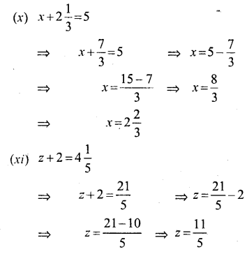 Selina Concise Mathematics Class 6 ICSE Solutions - Simple (Linear) Equations (Including Word Problems) - a1s..