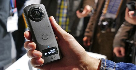 RICOH THETA Z1 Hands-on Photos (from different sources)