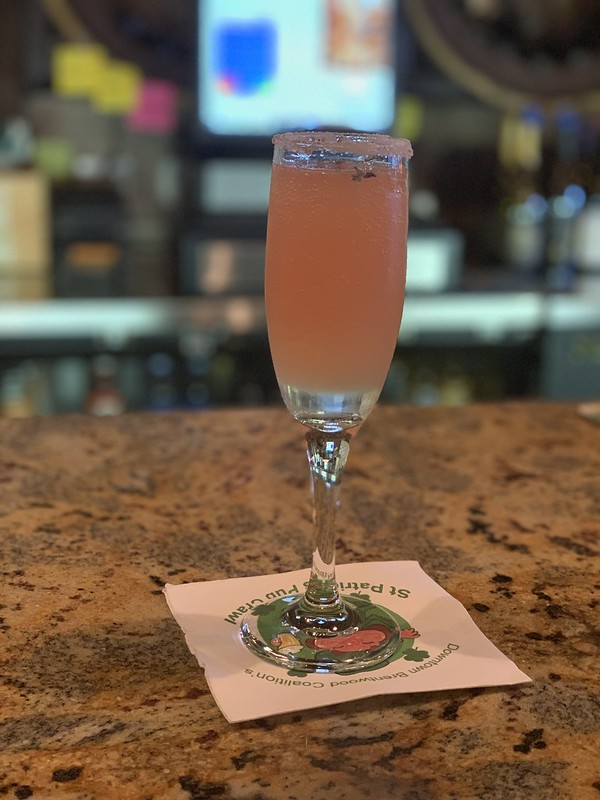 first mimosa of the season