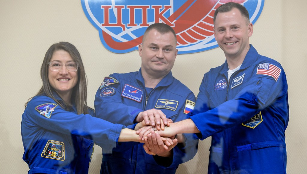 Expedition 59 Press Conference (NHQ201903130017)