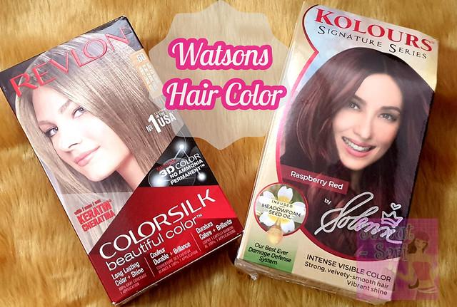 Watsons Hair Color