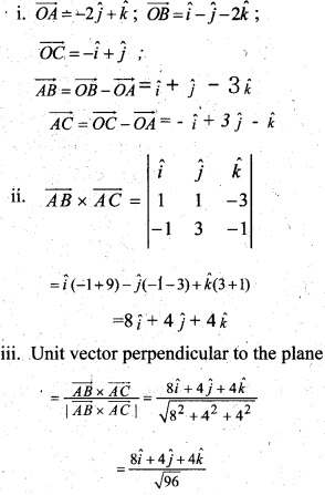 Plus Two Maths Chapter Wise Questions and Answers Chapter 10 Vector Algebra 29