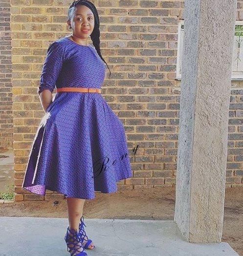 Shweshwe Fashion Designs Dresses 2019