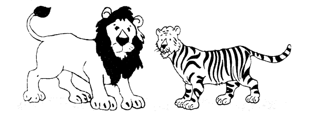 NCERT Solutions for Class 1 English Chapter 17 The Tiger and the Mosquito 3