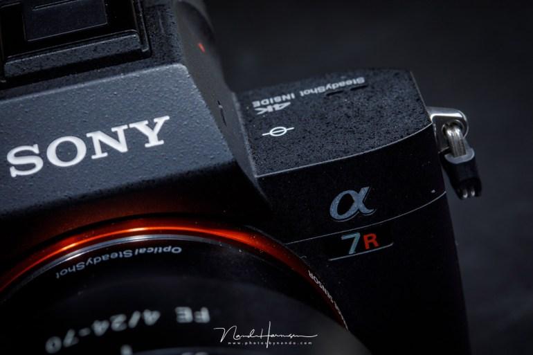 De Sony A7R III. Een van de nieuwste telgen in de Sony A-serie