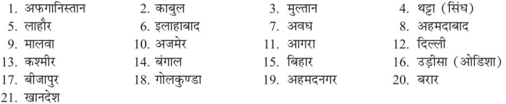UP Board Solutions for Class 12 History Chapter 5 Administration, Society, Art and Literature during Mughal Period 2