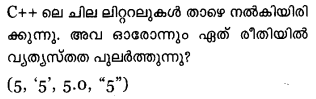 Plus One Computer Science Model Question Papers Paper 3.9