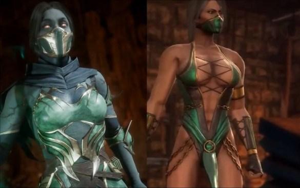 Mortal Kombat 11 Jade vs Mortal Kombat 9 Jade