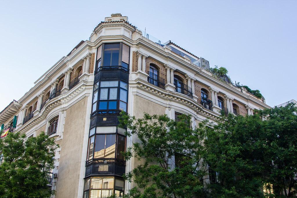 edificio calle de Jorge Juan Madrid