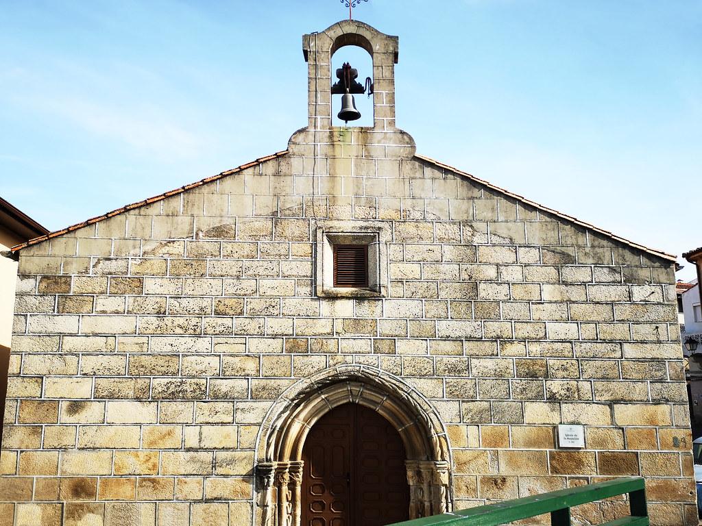 exterior Iglesia de la Asuncion Eljas Sierra de Gata Caceres 01