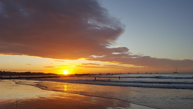Costa Rica Pacifc Sunset