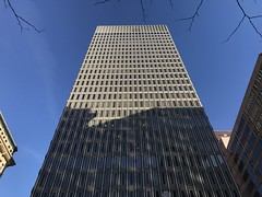 The Blaustein Building (1962; Vincent Kling & Associates), 1 N. Charles Street, Baltimore, MD 21218