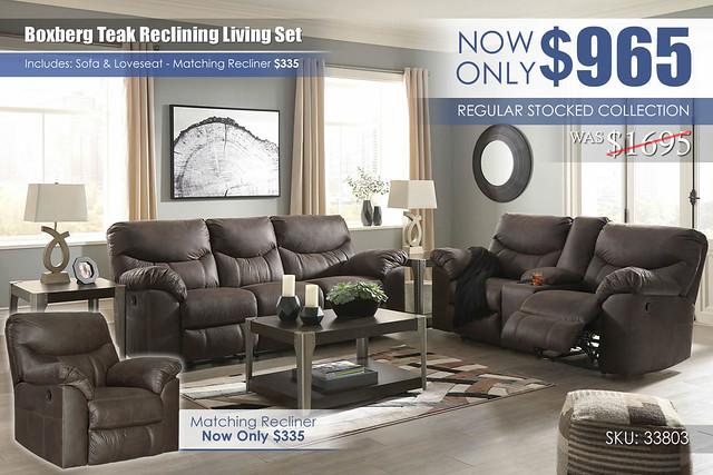 Boxberg Teak Reclining Living Set_33803_update