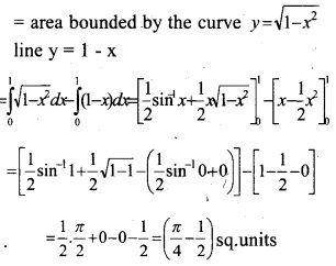 Plus Two Maths Chapter Wise Questions and Answers Chapter 8 Application of Integrals 27
