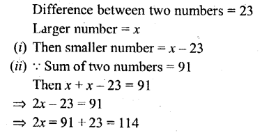 Selina Concise Mathematics Class 6 ICSE Solutions - Simple (Linear) Equations (Including Word Problems) - 9