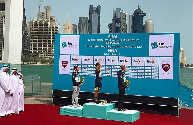Doha, prima tappa World Series: Bruni di bronzo, Paltrinieri ai piedi del podio