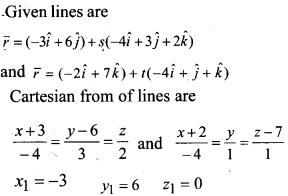 Plus Two Maths Chapter Wise Questions and Answers Chapter 11 Three Dimensional Geometry 57