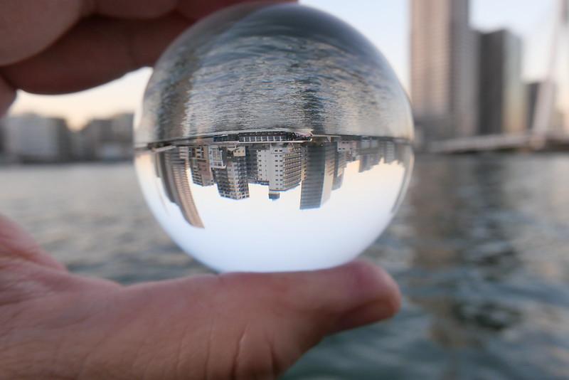 water bus lens ball