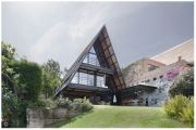 13 Contoh Desain Rumah Dengan Atap Curam