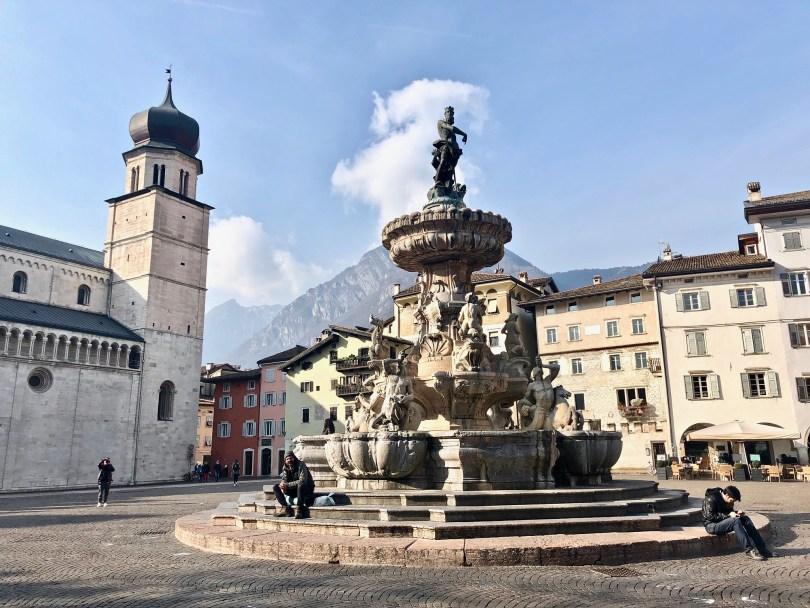 Itinerario di Trento - Fontana del Nettuno