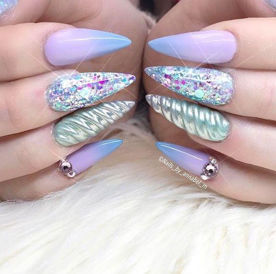 Unicorn Nail Designs