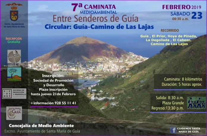 7ª Caminata Medioambiental para descubrir el patrimonio natural y etnográfico de Guía
