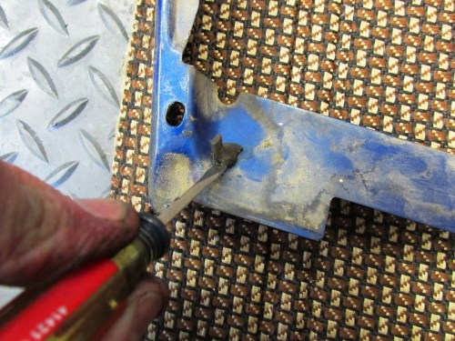 Removing Front Rubber Bumper From Cowl