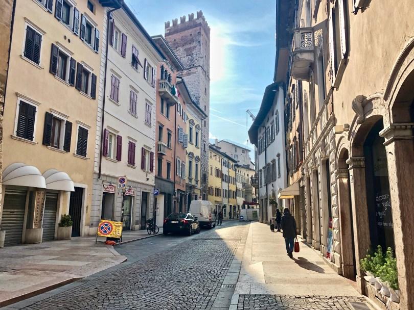 Itinerario di Trento - Via Cavour
