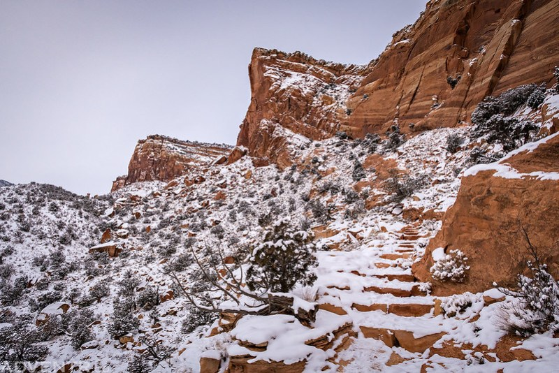 Lower Monument Canyon Steps
