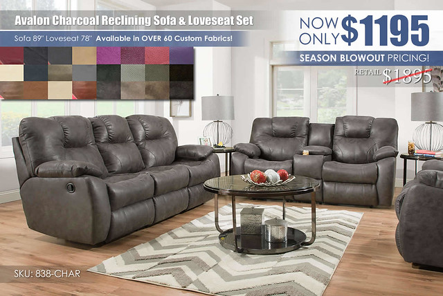 Avalon Charcoal Reclining Living Set_838_ColorSwatches