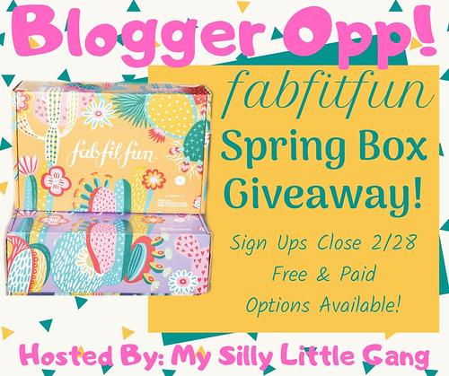 FabFitFun Spring Box Blogger Opp!