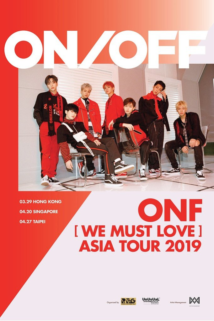 ONF WE MUST LOVE ASIA TOUR