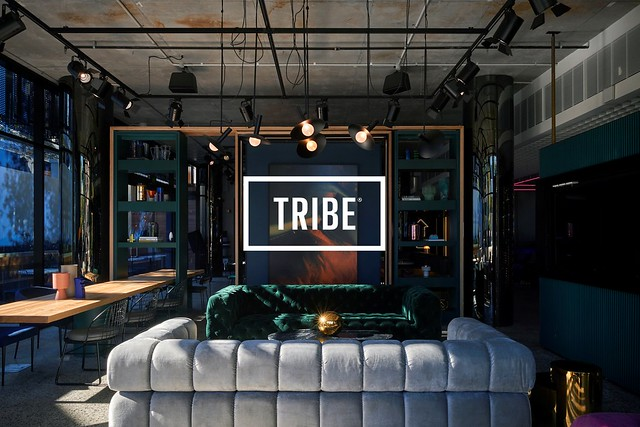 Tribe Hotel featured with logo