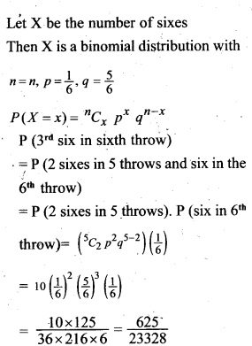 Plus Two Maths Chapter Wise Questions and Answers Chapter 13 Probability 62
