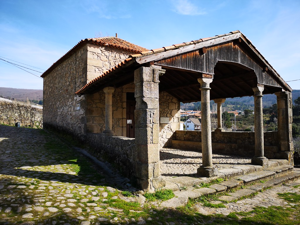 Ermita de la Cruz Bendita San Martin de Trevejo Sierra de Gata Caceres